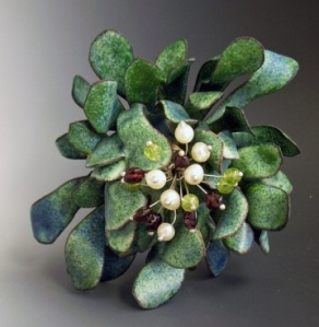 Mistletoe by Barbara Bowling, looking up